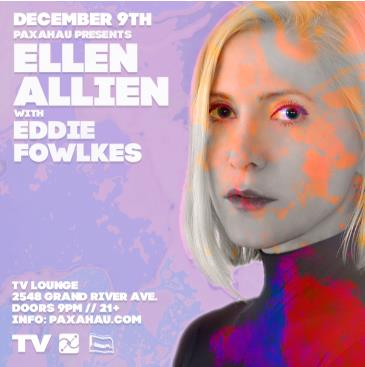 Paxahau Presents: Ellen Allien with Eddie Fowlkes: Main Image