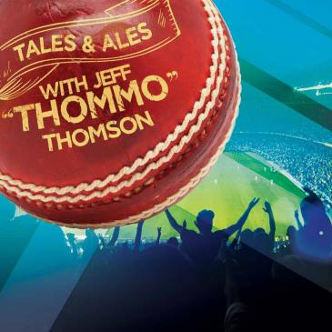 TALES & ALES - JEFF THOMSON (SOLD OUT)
