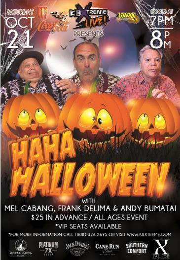 HaHa Halloween Comedy Show: Main Image