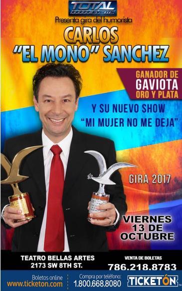 CARLOS EL MONO SANCHEZ MIAMI: Main Image