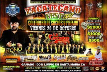 ZACATECANO FEST 2017: Main Image