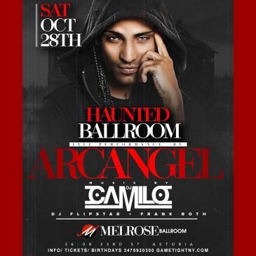 Arcangel & Dj Camilo Halloween Party at Melrose Ballroom: Main Image