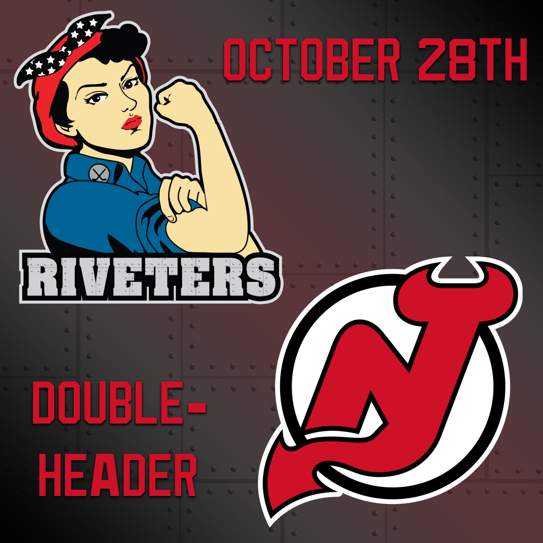 Double Header Pride vs Riveters & Coyotes vs Devils Main Image