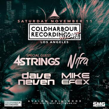 Coldharbour Night: 4 Strings, Nifra, Dave Neven, Mike EFEX: Main Image