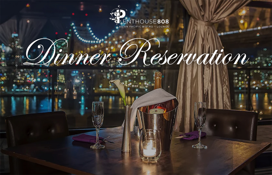 Penthouse 808 Dinner Reservation | GametightNY.com