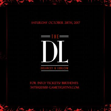 DL Rooftop Lounge NYC Halloween party 2017: Main Image