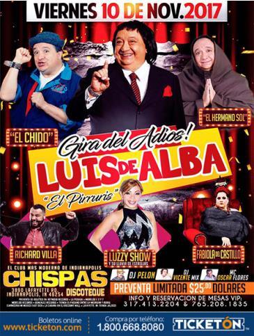 LUIS DE ALBA-LA GIRA DEL ADIOS: Main Image