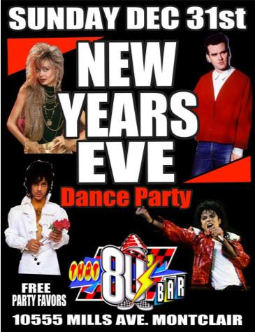 80s New Years Eve Party: Main Image
