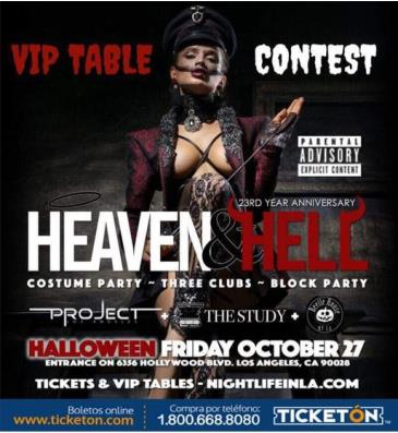 3 CLUBS POR 1 HALLOWEEN FRIDAY: Main Image