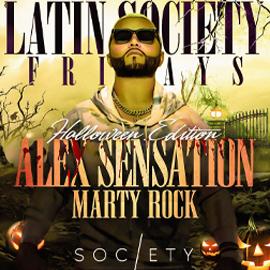 Alex Sensation Halloween party at Society NJ 2021 | GametightNY.com