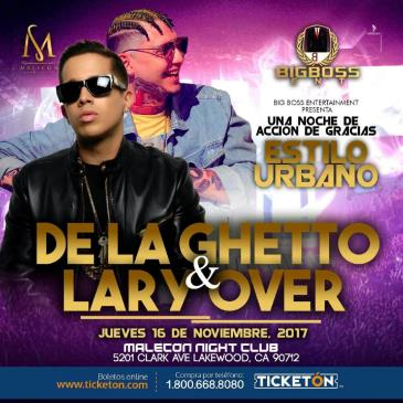 DE LA GHETTO & LARRY OVER: Main Image