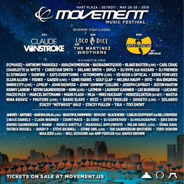 Movement Detroit 2018: Main Image