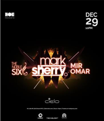 Inoki Party w/Mark Sherry, The Noble Six & Mir Omar: Main Image