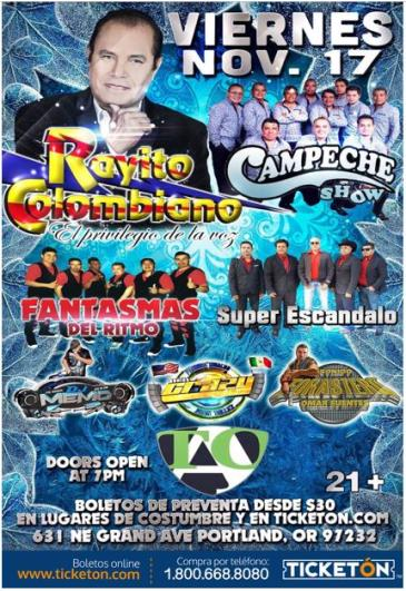 RAYITO COLOMBIANO Y CAMPECHE SHOW: Main Image