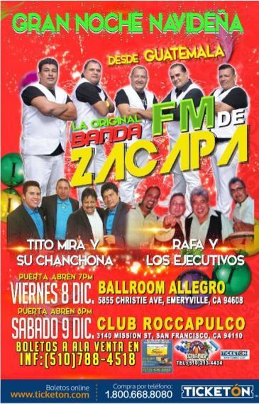 GRAN BAILE NAVIDENO CON FM DE ZACAPA: Main Image