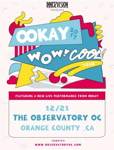 OOKAY (LIVE) at The Observatory OC: Main Image