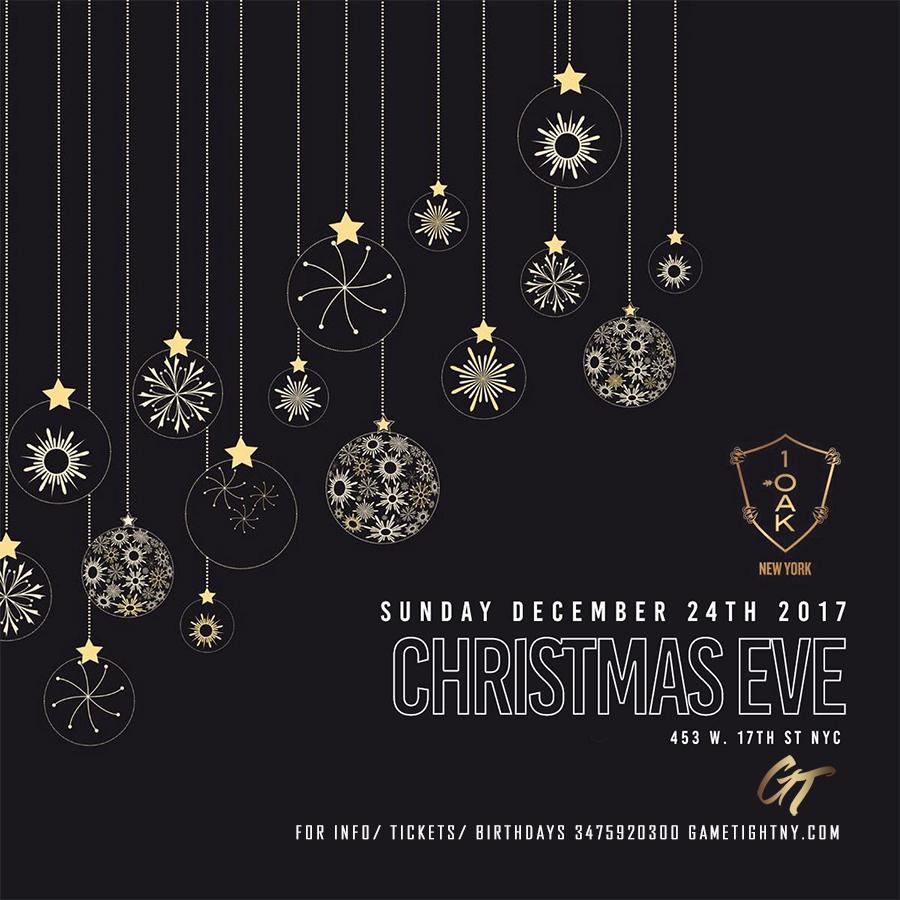 christmas eve event nyc
