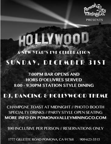 A Hollywood New Year's Eve Celebration: Main Image