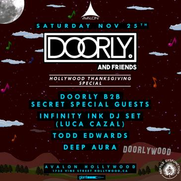 Doorly & Friends, Infinity Ink DJ Set, Todd Edwards: Main Image