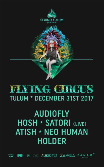 Sound Tulum presents FLYING CIRCUS: Main Image