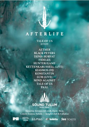 Sound Tulum presents AFTERLIFE: Main Image