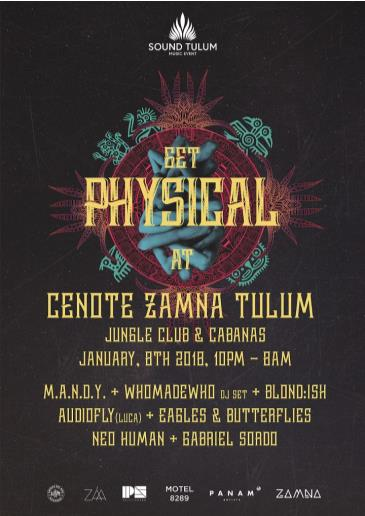 Sound Tulum presents GET PHYSICAL 15th Years: Main Image