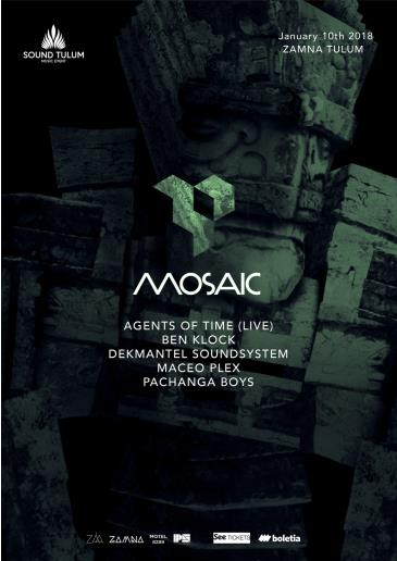 Sound Tulum presents MOSAIC by Maceo Plex: Main Image