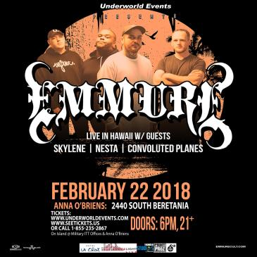 Emmure Presented by Underworld Events: Main Image