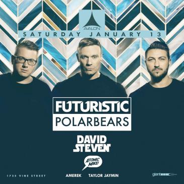Futuristic Polar Bears, David Steven, Atomic Mike: Main Image