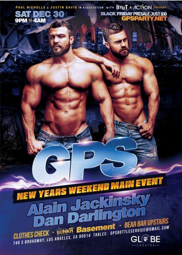 GPS New Years Sat Main Event: Main Image