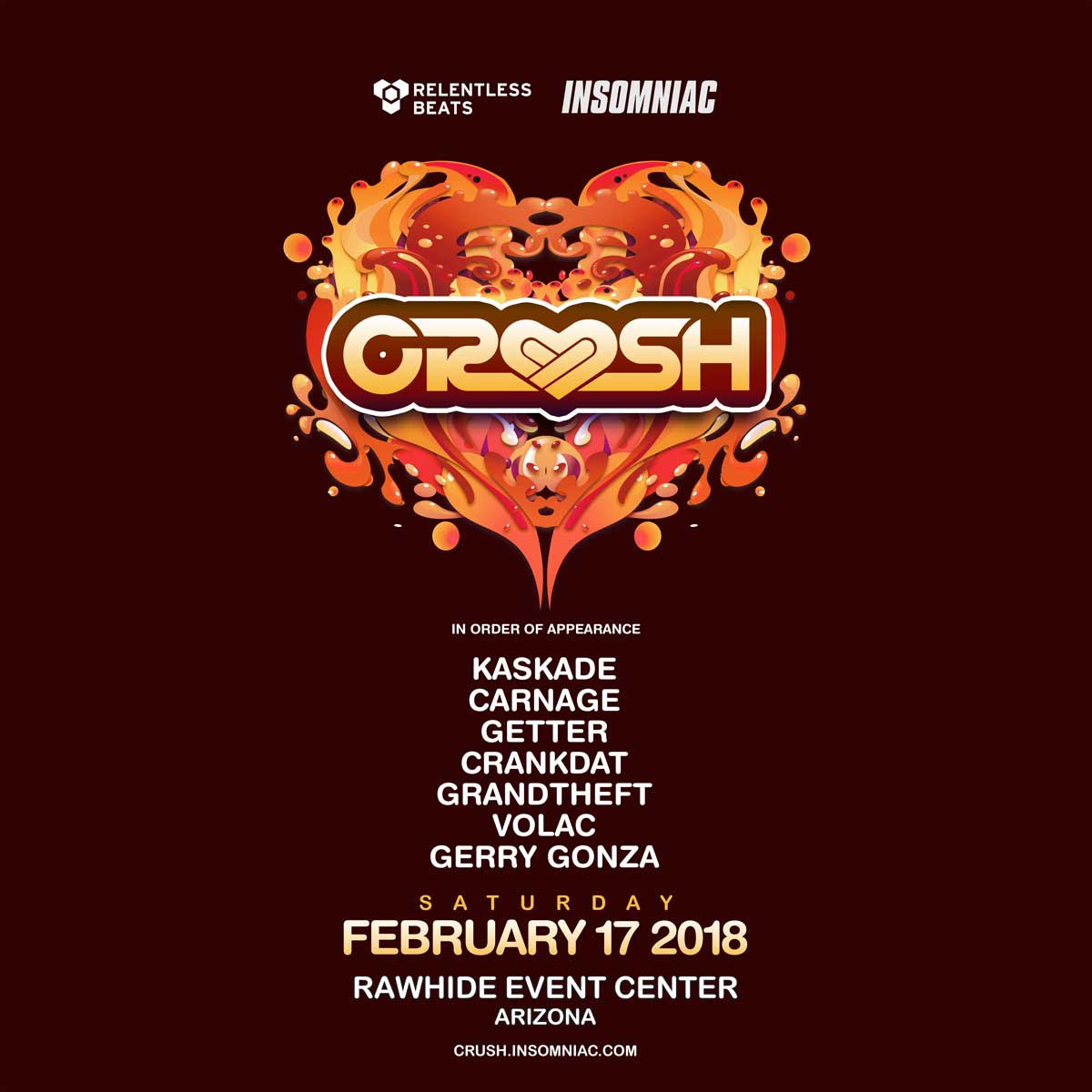 Insomniac announces monumental line-ups for their multi-city Valentine's tour78881deacf994fabb0a173652b363cd5.image!jpeg.80343.jpg.crush 2018 Square
