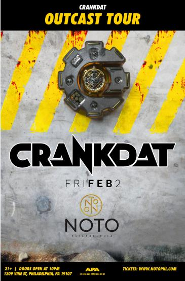 Crankdat Outcast Tour: Main Image