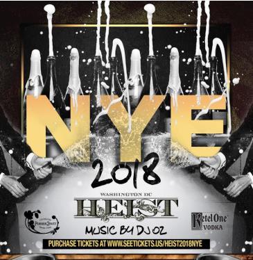 HEIST 2018 NYE: Main Image