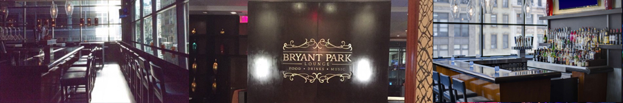 Bryant Park Lounge New Years Eve party | NYENYparties.com
