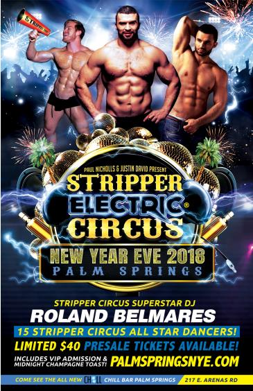STRIPPER CIRCUS ELECTRIC - Palm Springs New Years Eve!: Main Image