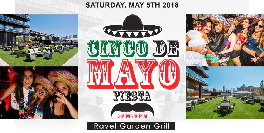 Cinco de Mayo Ravel's Garden Grill | GametightNY.com