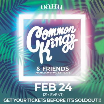 Common Kings & Friends (21+): Main Image