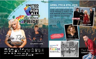 Phoenix Pride 2018: Main Image