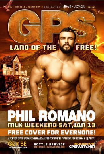 GPS: LAND OF THE FREE! with DJ PHIL ROMANO: Main Image