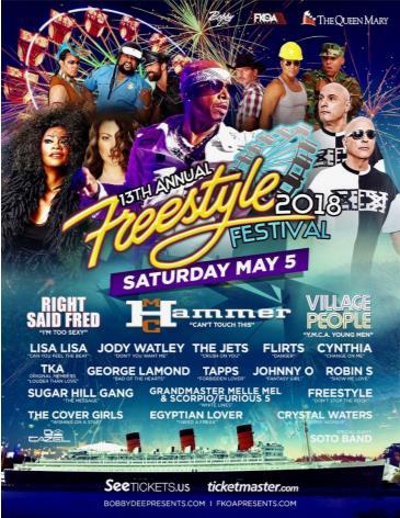 Freestyle Festival 2018 w/ MC HAMMER: Main Image