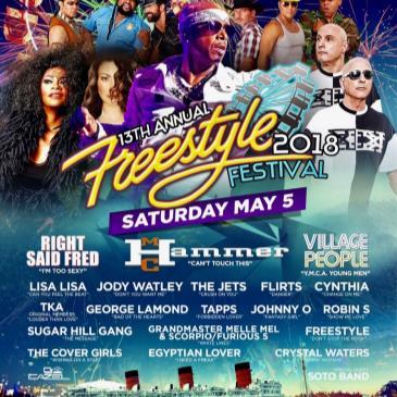 Freestyle Festival 2018 w/ MC HAMMER-img