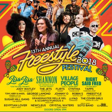Freestyle Festival 2018 w/ Lisa Lisa-img