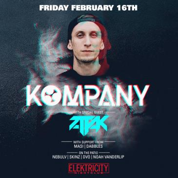 KOMPANY (LIMITED FREE W/ RSVP BEFORE 11PM): Main Image