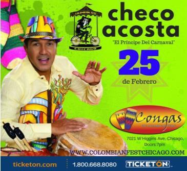 CHECO ACOSTA: Main Image