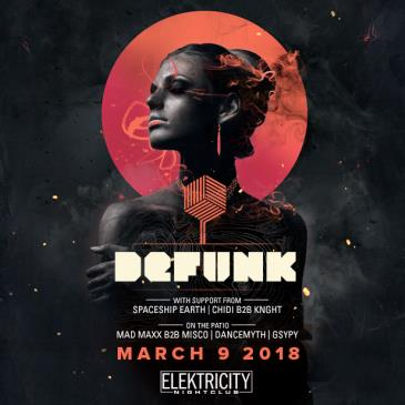 DEFUNK (LIMITED FREE W/ RSVP BEFORE 11PM): Main Image