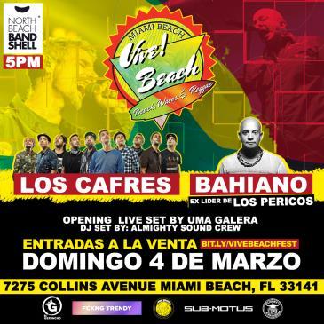 Vive Beach Festival - Los Cafres y Bahiano en Concierto-img