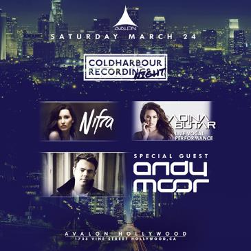 Coldharbour Night: Nifra, Adina Butar, Andy Moor-img