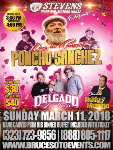 Live In Concert Poncho Sanchez & The Delgado Brothers: Main Image