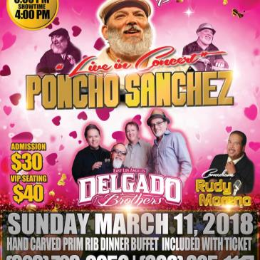 Live In Concert Poncho Sanchez & The Delgado Brothers-img