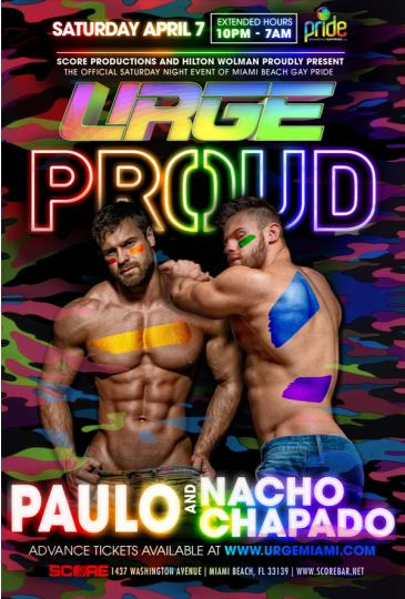 URGE - PROUD 2018: Main Image